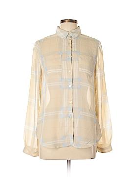 Harve Benard Long Sleeve Blouse Size M