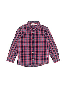 H&M Long Sleeve Button-Down Shirt Size 4 - 5