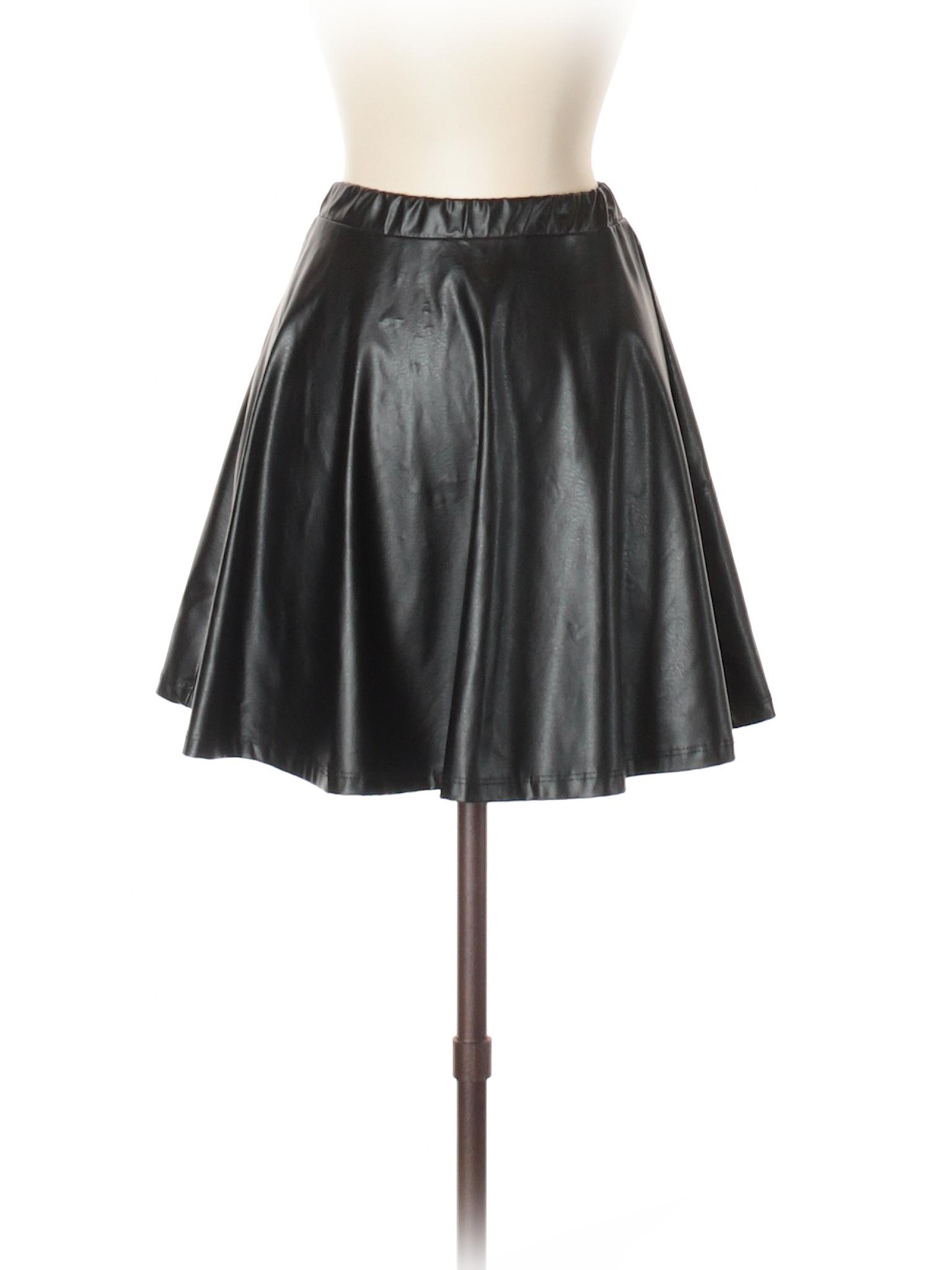 Leisure Cefian Leather Skirt S A Faux U winter 8Rqnr8