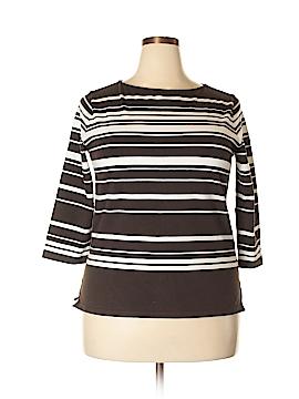 Ralph by Ralph Lauren 3/4 Sleeve T-Shirt Size 1X (Plus)