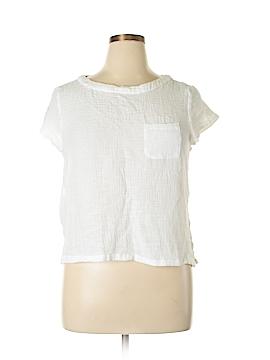 Catherine Malandrino Short Sleeve Blouse Size L