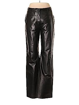 Ann Taylor Leather Pants Size 10