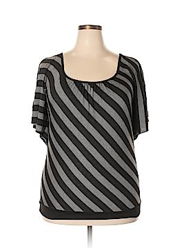 American City Wear Short Sleeve Top Size 1X (Plus)
