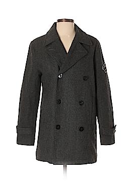CALVIN KLEIN JEANS Wool Coat Size S