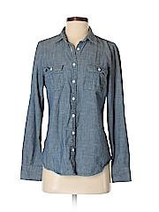J. Crew Women Long Sleeve Button-Down Shirt Size 5