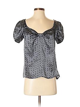 Armani Collezioni Short Sleeve Silk Top Size 40 (IT)