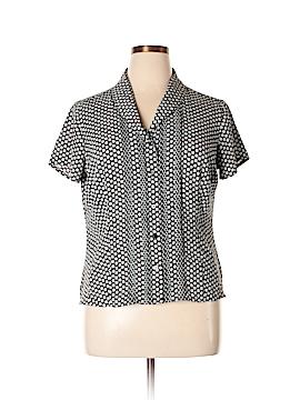 Covington Outlet Short Sleeve Blouse Size XL (Petite)
