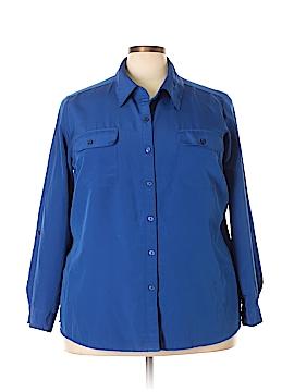 Kim Rogers Long Sleeve Blouse Size 3X (Plus)