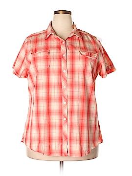 Woolrich Short Sleeve Button-Down Shirt Size XXL