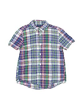 Polo by Ralph Lauren Short Sleeve Button-Down Shirt Size 6