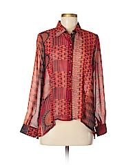 Sans Souci Women Long Sleeve Blouse Size S