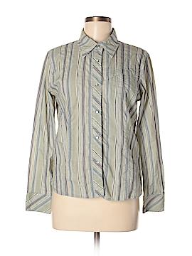 TSUNAMI Long Sleeve Button-Down Shirt Size M
