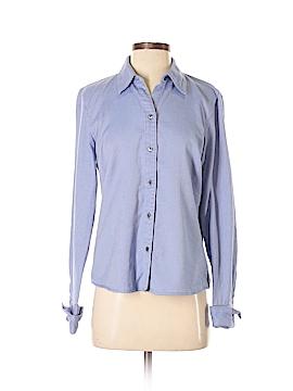 Geoffrey Beene Long Sleeve Button-Down Shirt Size 8