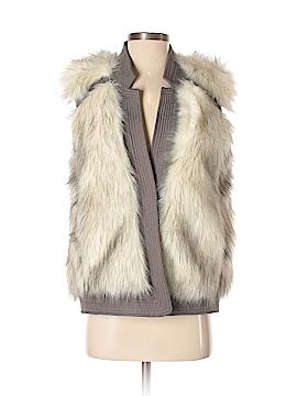 Rebecca Taylor Faux Fur Vest Size S