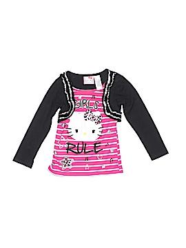 Hello Kitty Long Sleeve Top Size 4 - 5