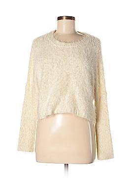 Hem & Thread Pullover Sweater Size Med - Lg