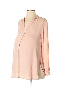 Ann Taylor LOFT Maternity Long Sleeve Blouse Size XS (Maternity)