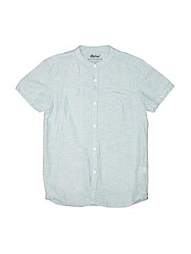 Rebel Short Sleeve Button-Down Shirt Size 10 - 11