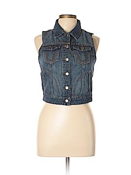Thread & Supply Denim Vest Size L