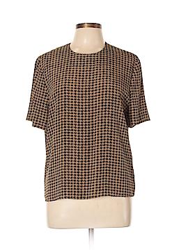 Kasper A.S.L. Short Sleeve Blouse Size 12 (Petite)