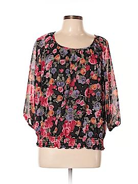 C.D. Petites 3/4 Sleeve Blouse Size XL