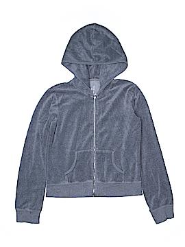 Plush & Lush Zip Up Hoodie Size M