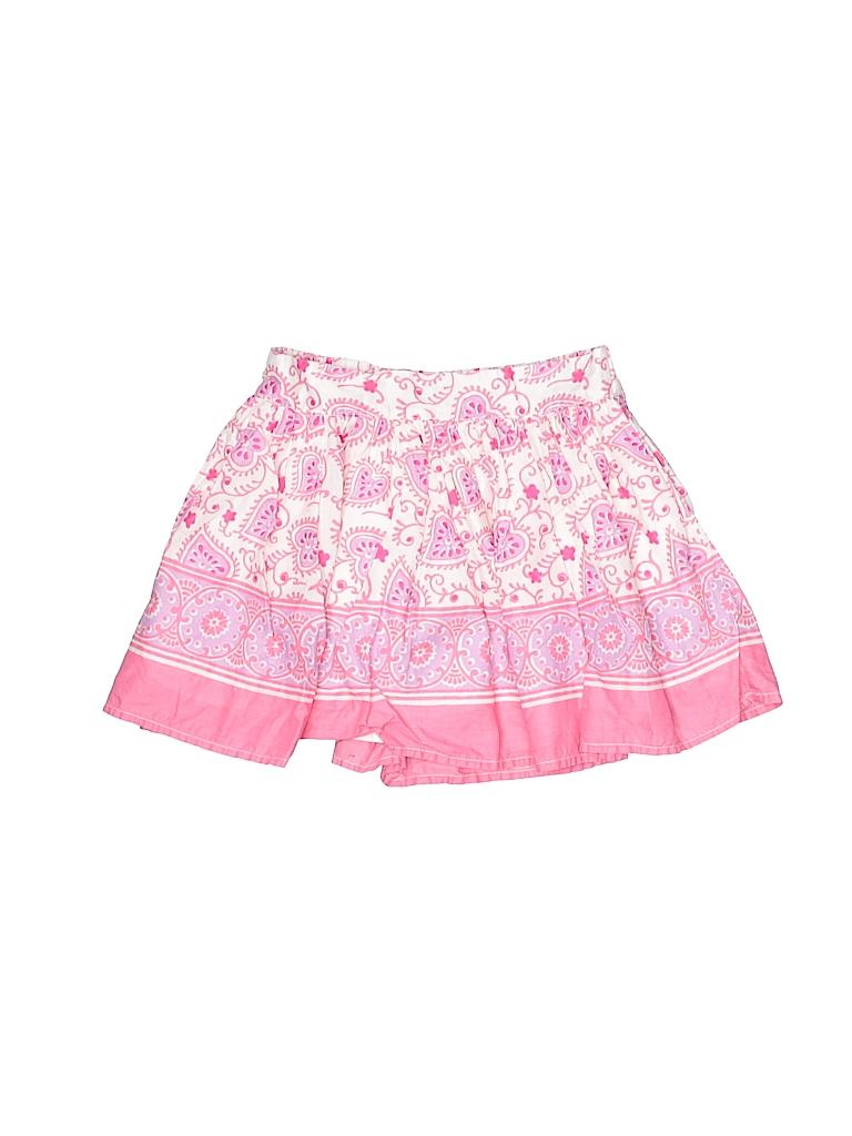 99830f0909e56 Gap Kids 100% Cotton Print Pink Skirt Size 6 - 7 - 83% off