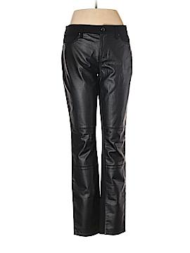 DKNY Jeans Faux Leather Pants Size 8