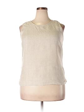 Talbots Sleeveless Blouse Size 16
