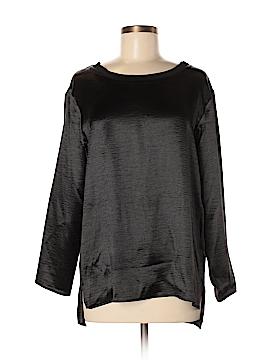 Libby Edelman Long Sleeve Blouse Size M