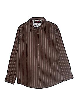 Tony Hawk Long Sleeve Button-Down Shirt Size 14 - 16