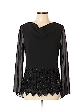 Sheri Martin New York Woman Long Sleeve Blouse Size 8