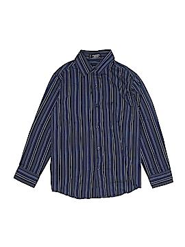 Van Heusen Long Sleeve Button-Down Shirt Size M (Kids)