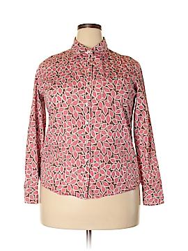 Boden Long Sleeve Button-Down Shirt Size 18 (Plus)