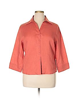 David N Long Sleeve Button-Down Shirt Size XL