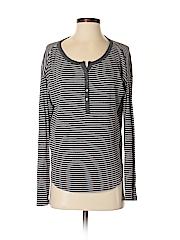 Gap Women Long Sleeve Henley Size S
