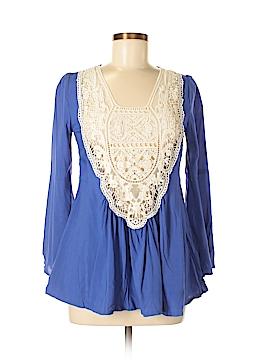VAVA by Joy Han Long Sleeve Blouse Size S