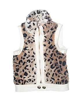 Sugarfly Faux Fur Vest Size 3T