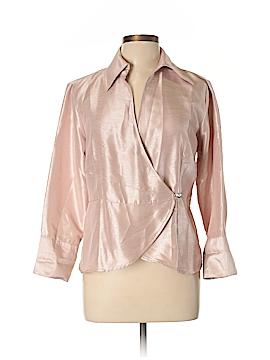 Harve Benard Silk Blazer Size L