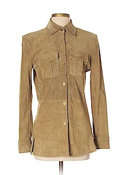 Liz Claiborne Leather Jacket Size S