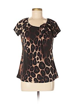 Susan Lawrence Short Sleeve Blouse Size M