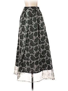 Whit Silk Skirt Size 2
