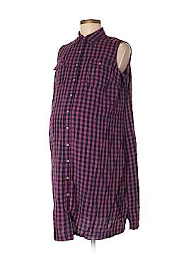 Liz Lange Maternity Sleeveless Button-Down Shirt Size S (Maternity)