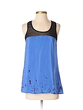 Sparkle & Fade Sleeveless Silk Top Size S