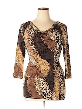 Carmen Carmen Marc Valvo 3/4 Sleeve Top Size L