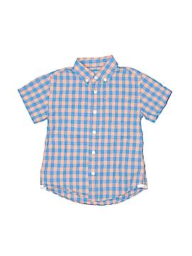 Crewcuts Short Sleeve Button-Down Shirt Size 3T