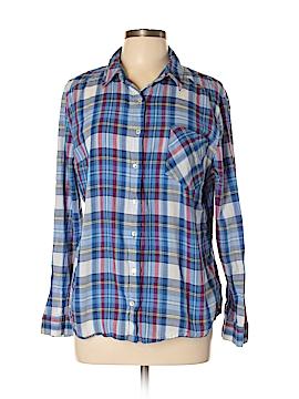 Joe Boxer Long Sleeve Button-Down Shirt Size XL