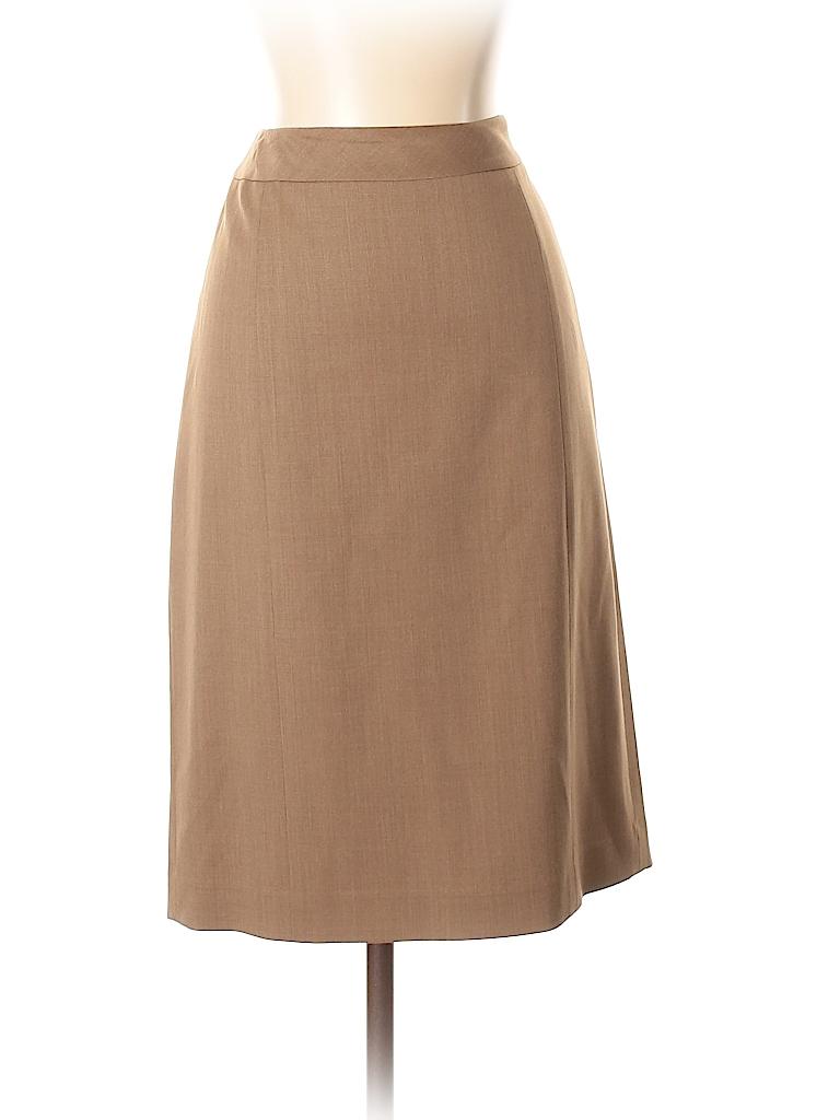 Lafayette 148 New York Women Wool Skirt Size 2