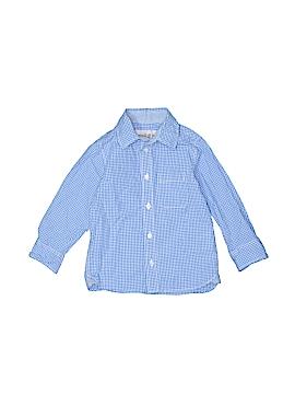 H&M Long Sleeve Button-Down Shirt Size 1 1/2-2