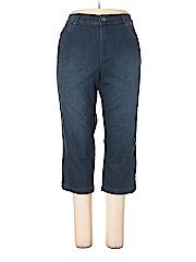 Bandolino Women Jeans Size 18 (Plus)